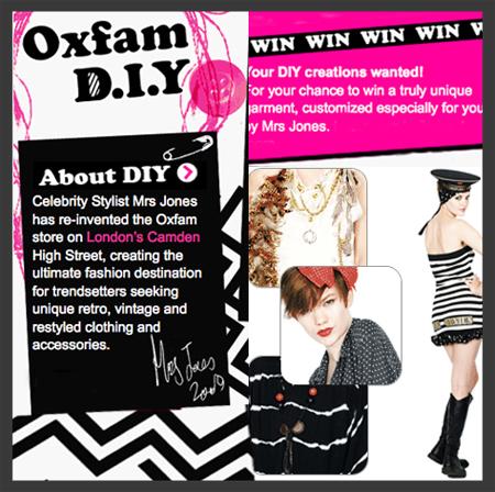 Oxfam contest